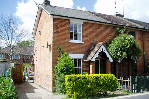 Redecoration and refurbishment to a Surrey cottage