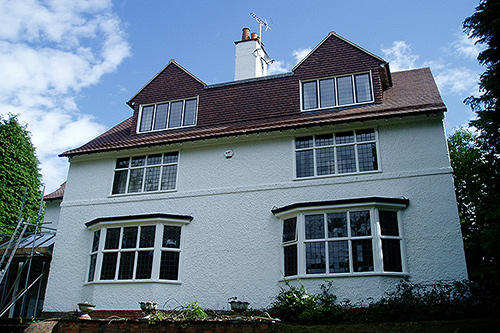 External redecoration of a substantial 7 bedroom private property