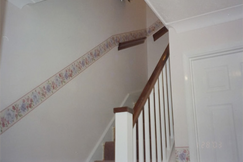 Hallway, landing and staircase redecoration of private property