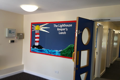 Redecoration to South Farnham nursery school